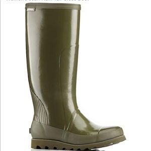 Sorel NWT Joan Rain Tall Gloss Boot.